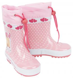 Резиновые сапоги , цвет: розовый Indigo Kids