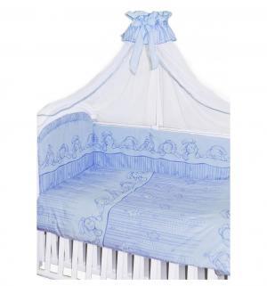 Комплект постельного белья  Зая-Зай, цвет: голубой Золотой гусь