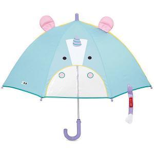 Зонт детский SkipHop Единорог Skip Hop. Цвет: голубой