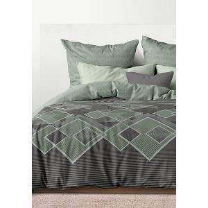 Комплект постельного белья  Бридж, Евро Унисон. Цвет: разноцветный