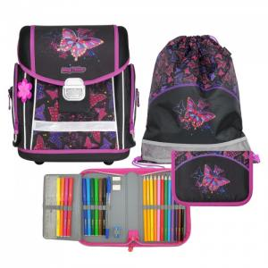 Ранец школьный с наполнением Evo Rainbow Butterfly Magtaller