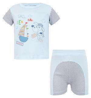 Комплект футболка/шорты  Bukiecik, цвет: голубой Sofija