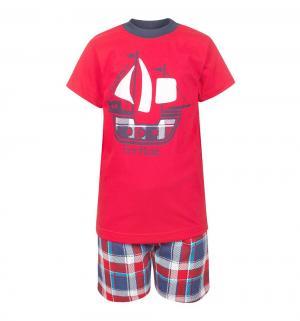 Комплект футболка/шорты , цвет: красный M&D