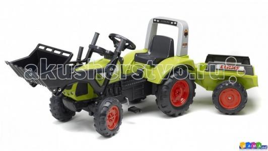 Трактор-экскаватор  педальный с прицепом 191 см Falk