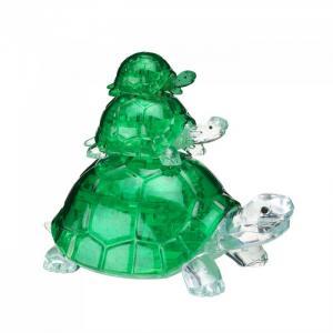 3D головоломка Черепашки (37 деталей) Crystal Puzzle