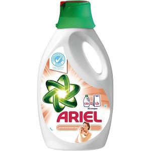 Детский жидкий стиральный порошок  1,95 л Ariel. Цвет: белый