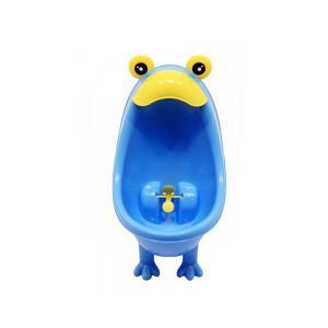 Писсуар с прицелом  настенный ножками, цвет: голубой Roxy-kids
