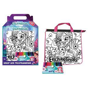 Набор для творчества Centrum Enchantimals Раскрась сумку Бри Банни. Цвет: разноцветный