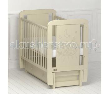 Детская кроватка Kitelli Micio продольный маятник (Kito)