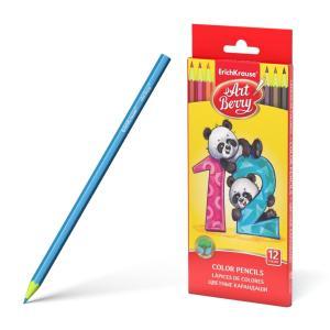 Цветные карандаши  шестигранные ArtBerry