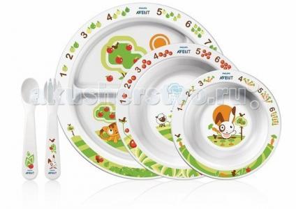 Набор посуды 6 мес.+ SCF716/00 Philips Avent