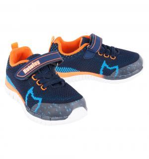 Кроссовки , цвет: синий/оранжевый Котофей