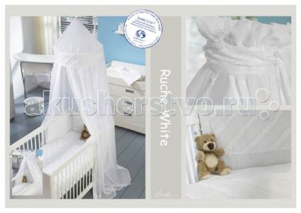 Постельное белье  Baby Ruche White (2 предмета) Anel