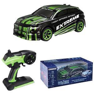 Радиоуправляемая гоночная машина  1:18 Zhorya. Цвет: зеленый
