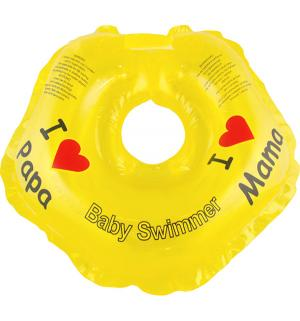Круг на шею  BS21Y, цвет: желтый Baby Swimmer