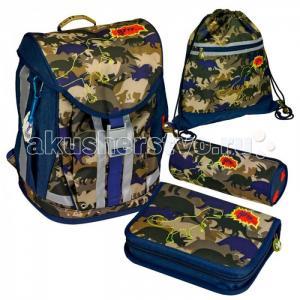 Школьный рюкзак T-Rex Flex Style с наполнением 11869 Spiegelburg