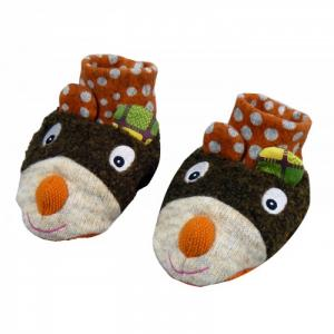 Ботиночки мягкие Мишка Ebulobo