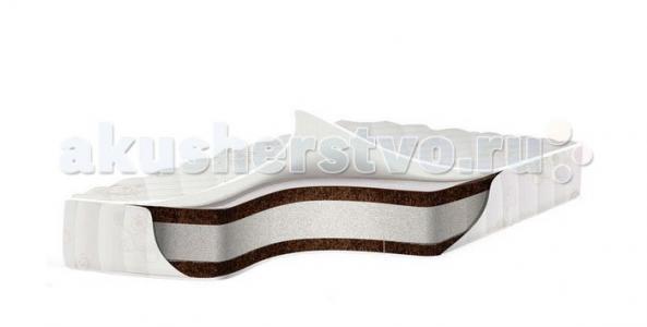 Матрас  премиум класса EcoComfort Cotton 140x70х11 Babysleep