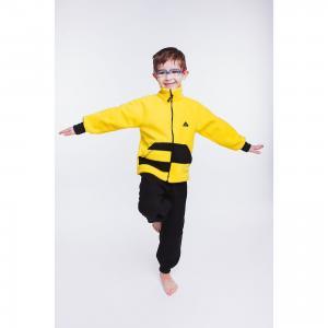 Спортивный костюм  Полоска ЛисФлис. Цвет: желтый
