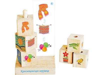 Деревянная игрушка  Логический ряд Краснокамская