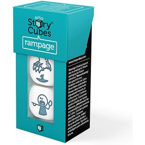 Настольная игра Rorys Story Cubes Кубики историй Буйства 3 кубика (доп. набор) Rory's
