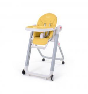 Стульчик для кормления  Futuro Bianco, цвет: желтый Nuovita