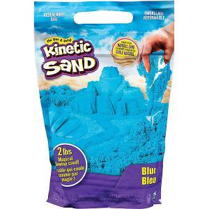 Песок для лепки Kinetic Sand большой Spin Master. Цвет: голубой