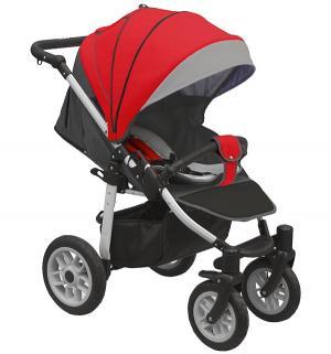 Прогулочная коляска  Eos, цвет: красный/темно-серый Camarelo