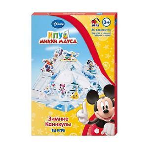Игра настольно-печатная  Зимние каникулы Disney
