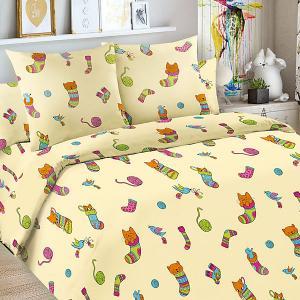 Детское постельное белье 3 предмета , BG-107 Letto. Цвет: желтый