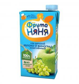 Восстановленный сок , яблоко-виноград 500 мл, 1 шт ФрутоНяня
