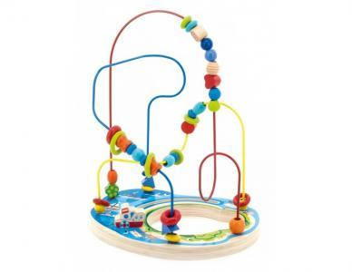 Деревянная игрушка  Лабиринт Морское приключение Мир деревянных игрушек