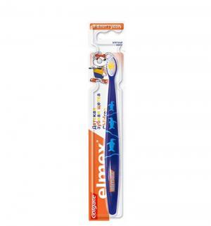 Зубная щетка  Elmex детская, цвет: синий Colgate