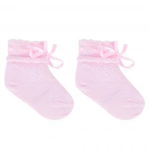 Носки Party Line, цвет: розовый Гамма