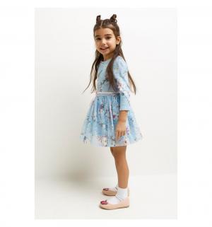 Платье  Tegeran, цвет: голубой/розовый Acoola