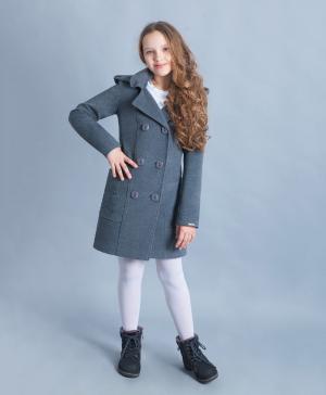 Двубортное пальто Интер Мода