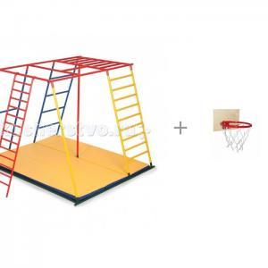 Детский спортивный комплекс Олимп полная комплектация и Баскетбольное кольцо со щитом Ранний старт
