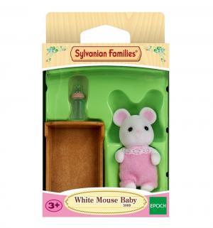 Игровой набор  Малыш Белый Мышонок Sylvanian Families