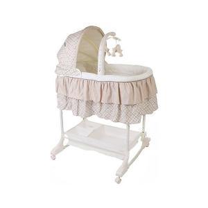 Кроватка-люлька 3 в 1 Sweet Dream, , кофейный Jetem