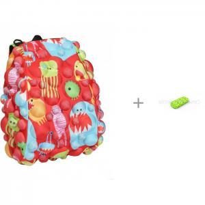 Рюкзак Bubble Half Monsters Under the Red 36 см с пеналом Zipit Colorz Box MadPax