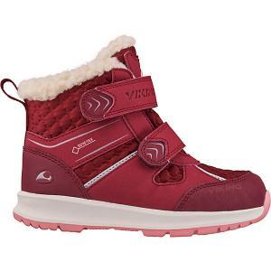 Утепленные Ботинки Sophie VIKING. Цвет: красный