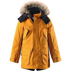 Куртка Naapuri для мальчика tec® Reima. Цвет: желтый