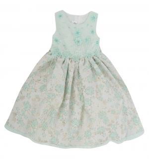 Платье , цвет: бирюзовый Santa&Barbara