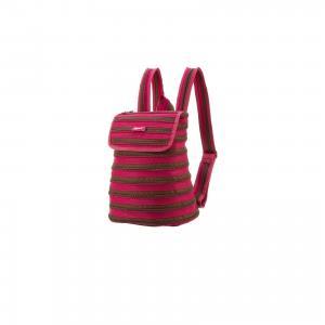 Рюкзак ZIPPER BACKPACK, цвет розовый/коричневый Zipit