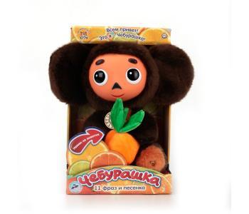 Мягкая игрушка  Чебурашка с пластиковой мордочкой 25 см Мульти-пульти