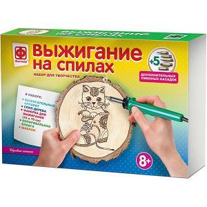 Набор для творчества  Выжигание на спилах Игривый котенок Фантазер. Цвет: weiß/beige