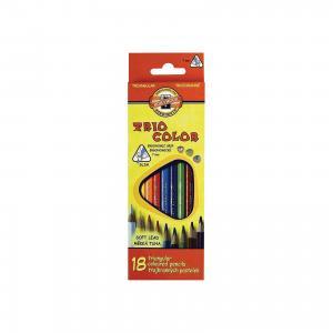 Цветные карандаши Triocolor, 18 цв., KOH-I-NOOR