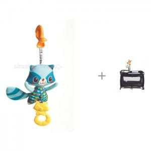 Подвесная игрушка  Енот с вибрацией + Кенгуру Tiny Love