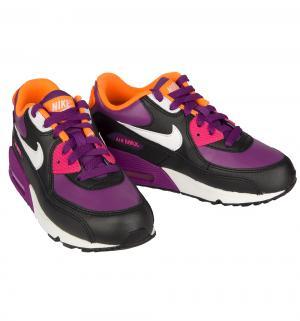 Кроссовки  Air Max 90 2007 ps, цвет: фиолетовый/черный Nike