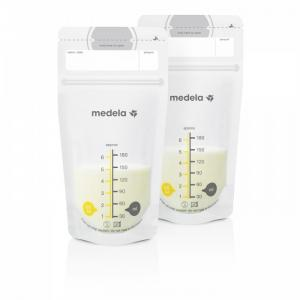 Пакеты для хранения грудного молока Breasr Milk Storage Bags 25 шт Medela